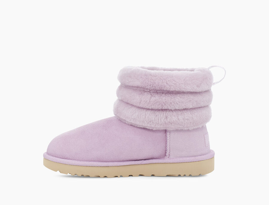 Classic Mini Fluff Quilted Boot - Image 3 of 6