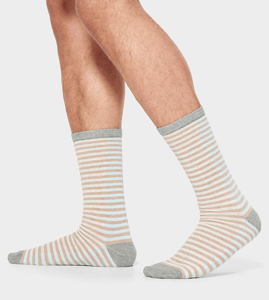 Codie Stripe Crew Sock - Image 2 of 4
