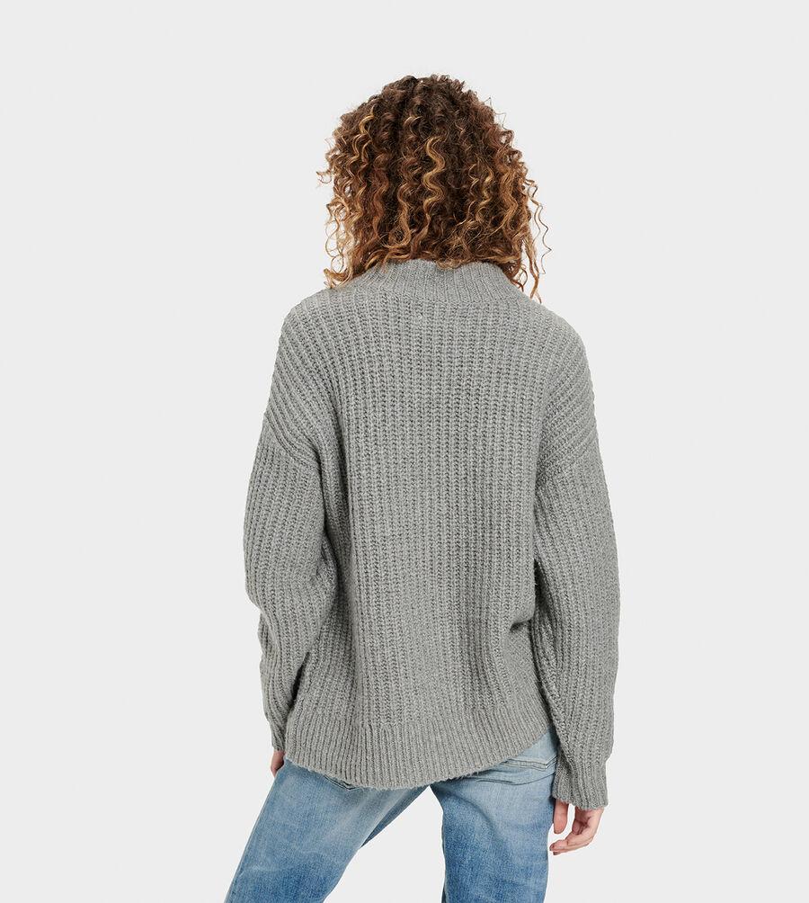 Alva Deep V-Neck Sweater - Image 2 of 6