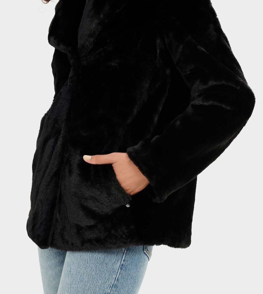 Rosemary Faux Fur Jacket - Image 4 of 6