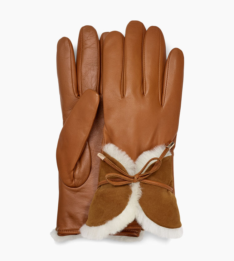 Combo Sheepskin Trim Glove
