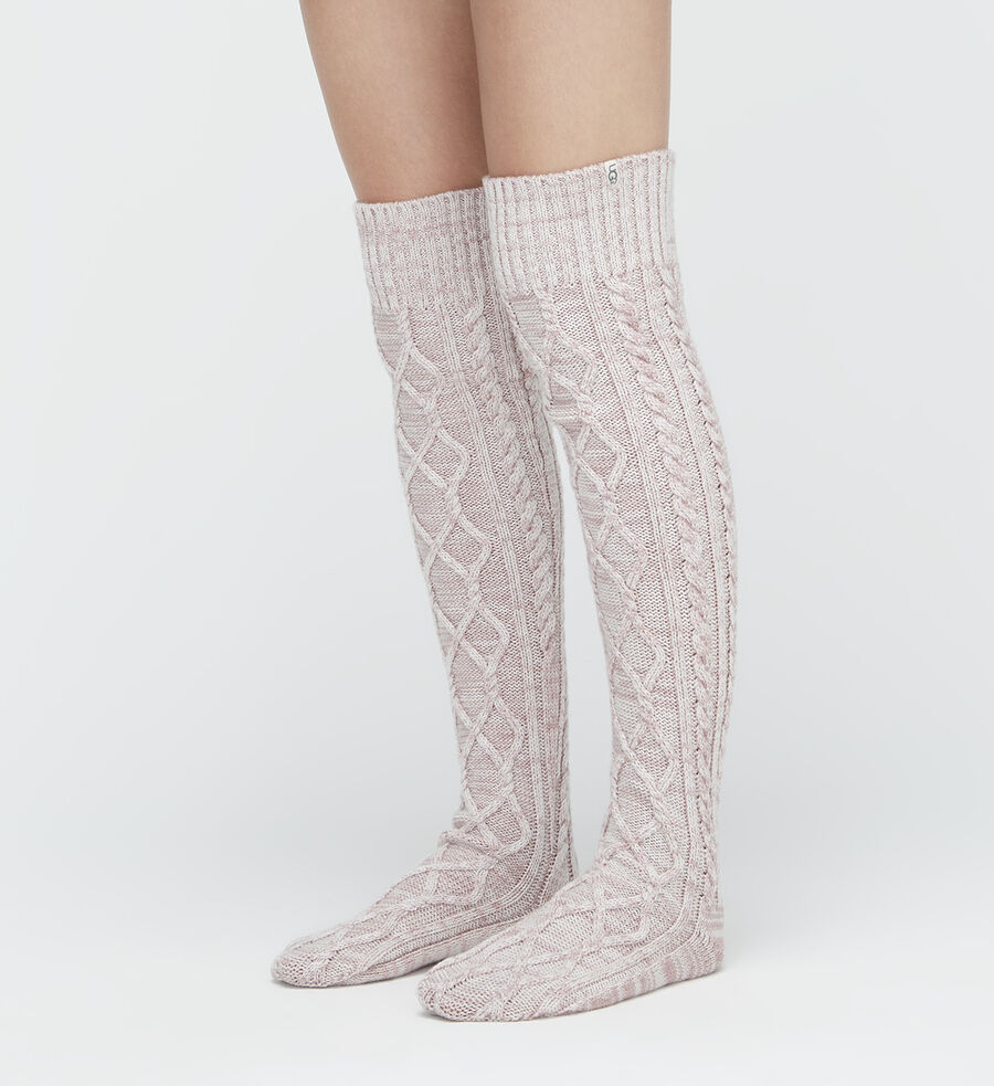 Cable Knit Sock - Image 1 of 3