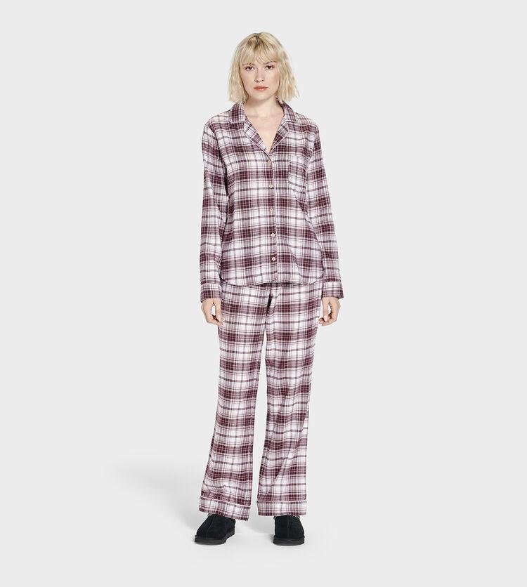 Raven Flannel PJ Set