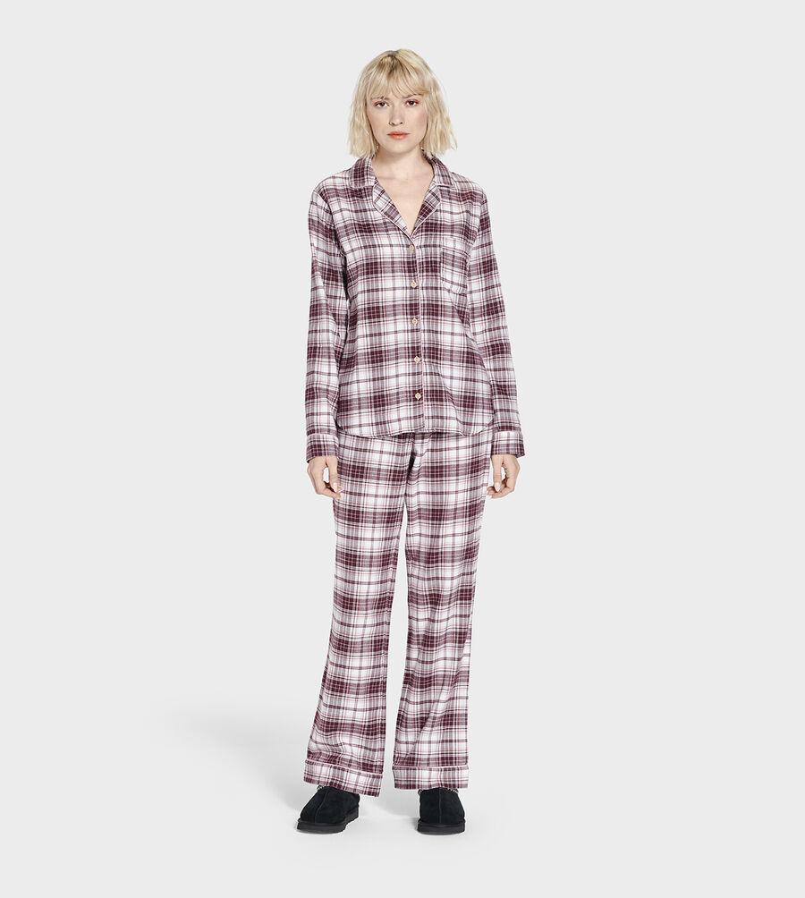 Raven Flannel PJ Set - Image 1 of 2