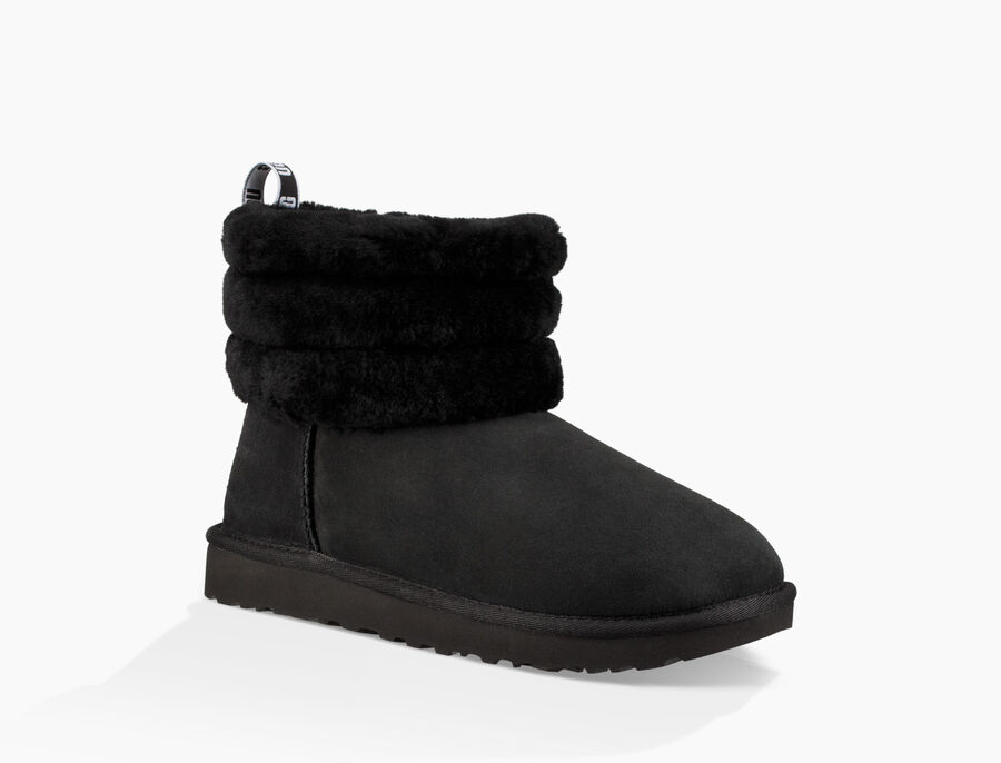Classic Mini Fluff Quilted Boot - Image 2 of 6