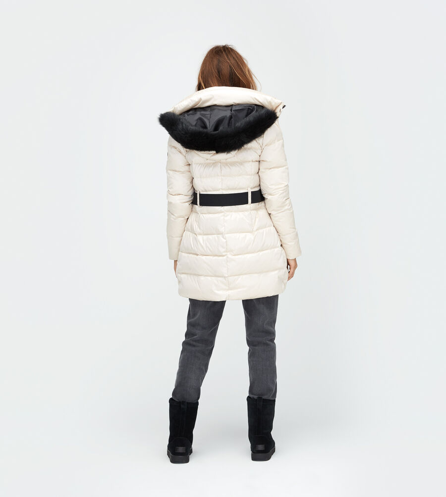 Belted Down Jacket - Image 2 of 5