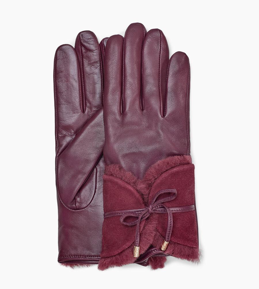Combo Sheepskin Trim Glove - Image 1 of 3