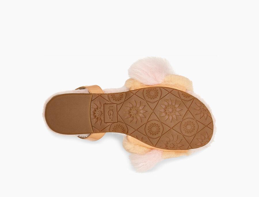 Fluff Fest Patent Sandal - Image 6 of 6