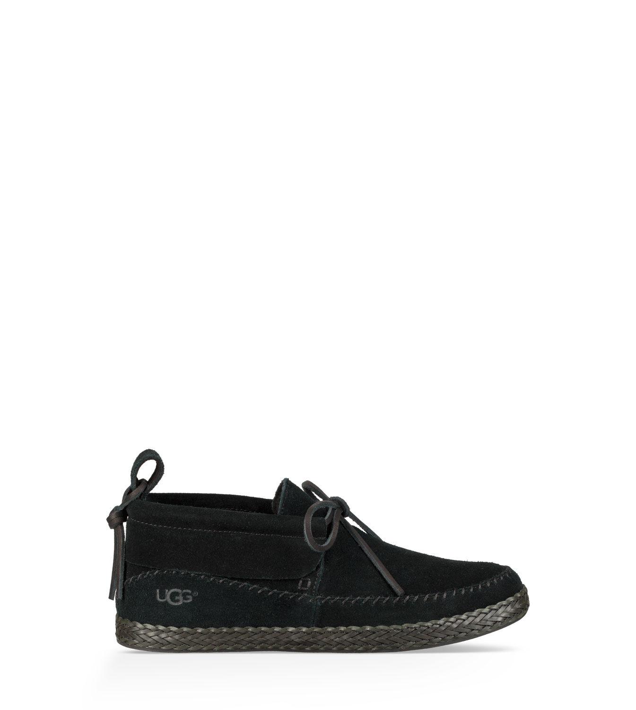 black ugg moccasins