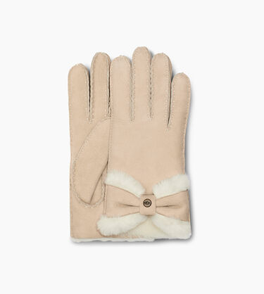 Sheepskin Turned Bow Glove