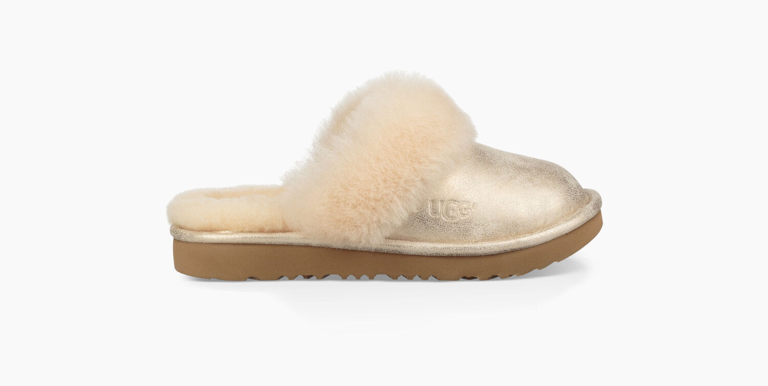 b1c5418915b Zoom Cozy II Metallic Slipper - Image 1 of 6