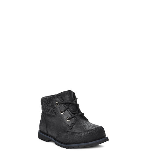 UGG Toddlers Orin Wool In Black, Size 12