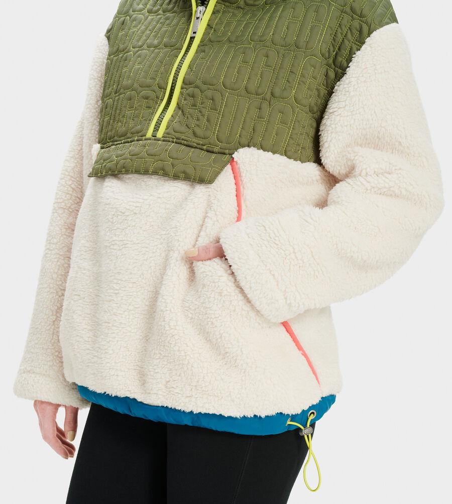 Iggy Sherpa Half Zip Pullover - Image 3 of 5