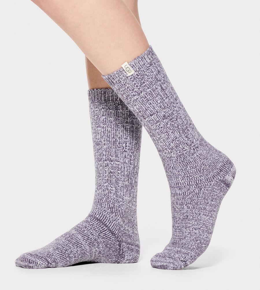 Rib Knit Slouchy Crew Sock - Image 1 of 1