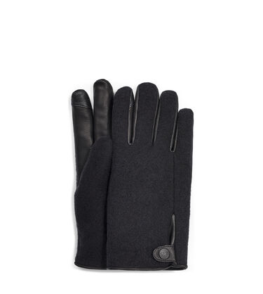 Snap Tab Fabric Tech Glove