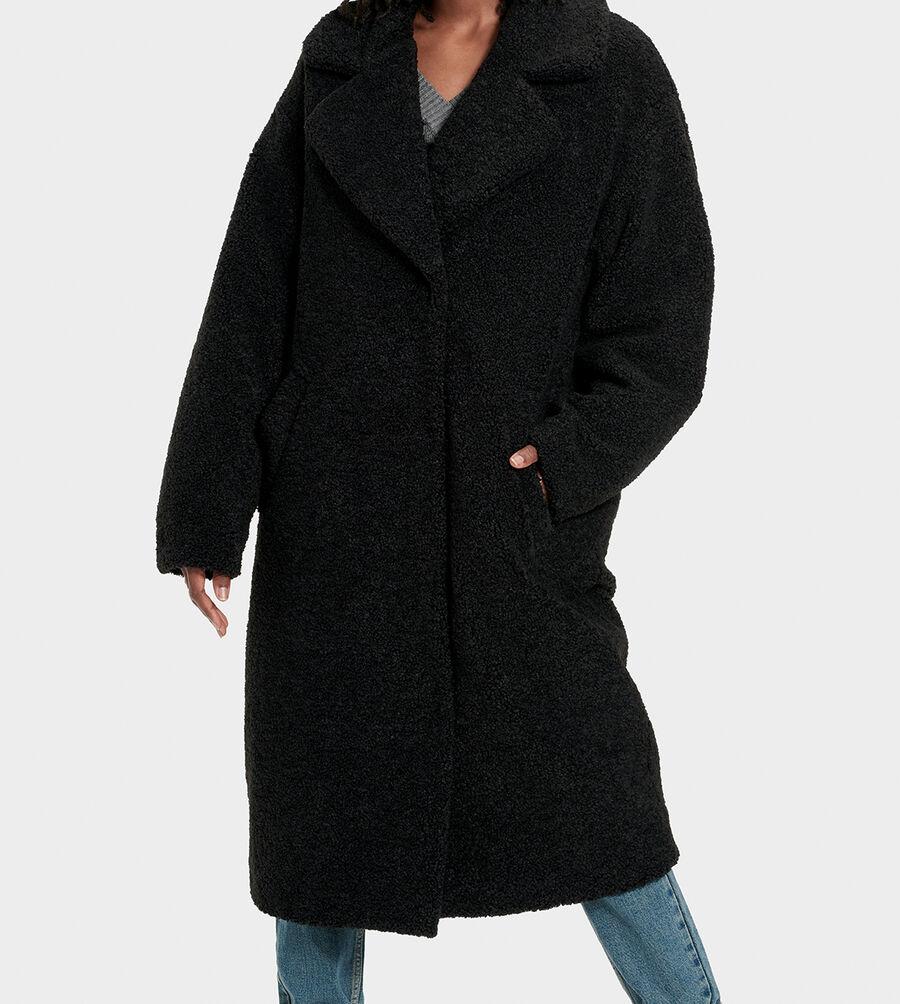 Charlisse Teddy Bear Coat - Image 3 of 6