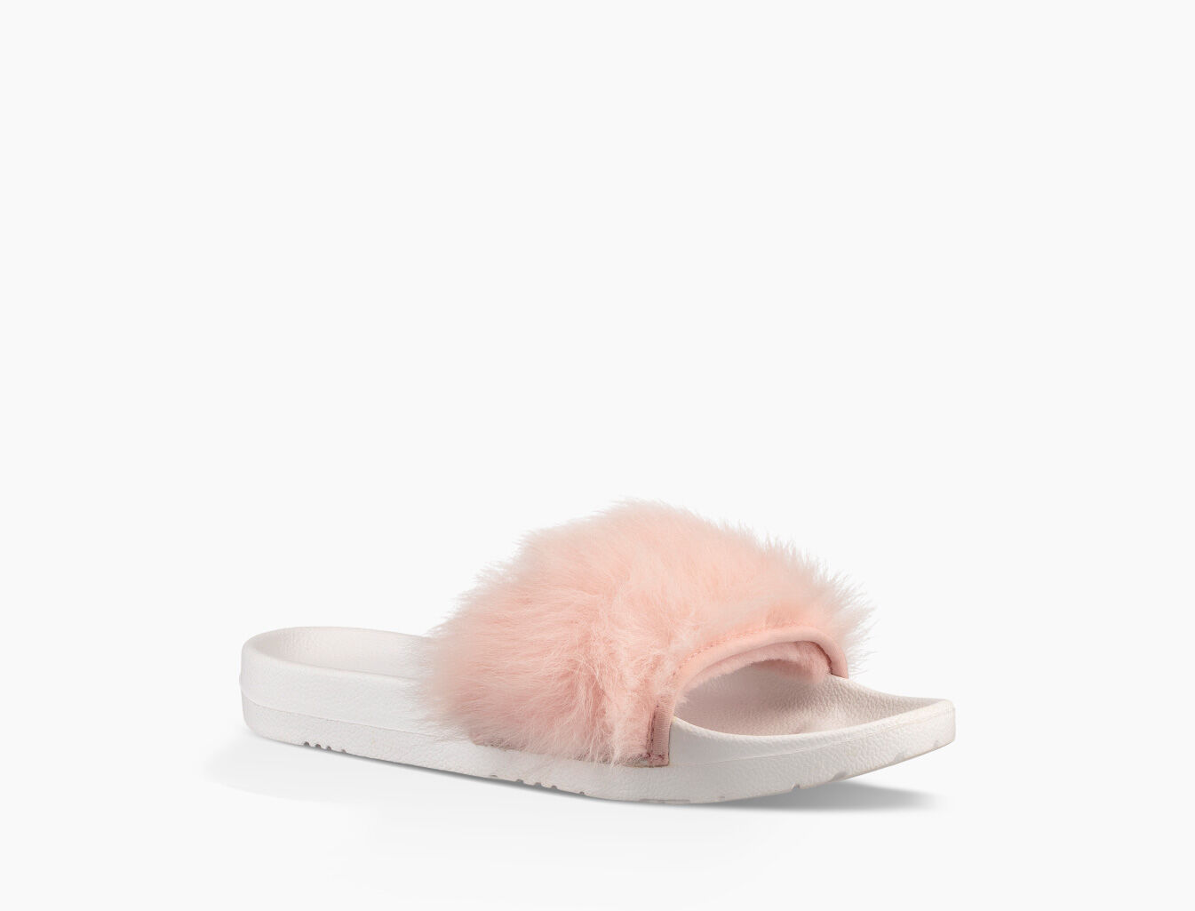 ugg sandals with fur