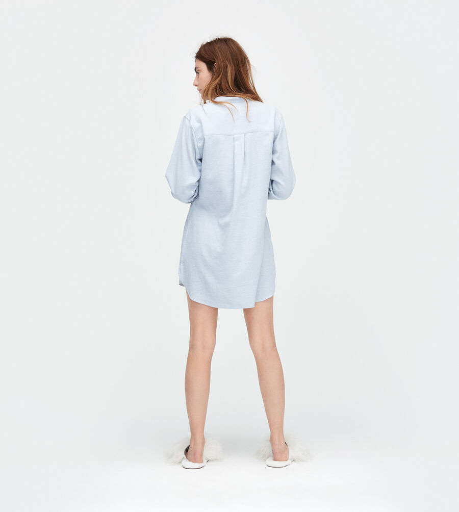 Vivian Herringbone PJ Shirt - Image 2 of 3