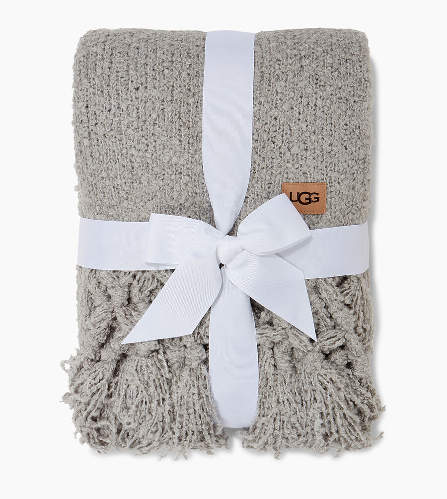 Cliffside Boucle-Knit Throw - Image 2 of 2