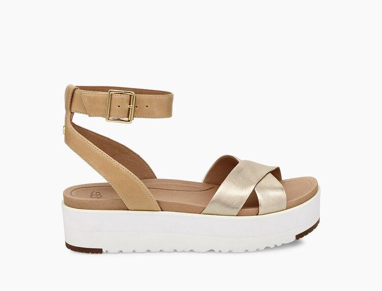 Tipton Metallic Sandal
