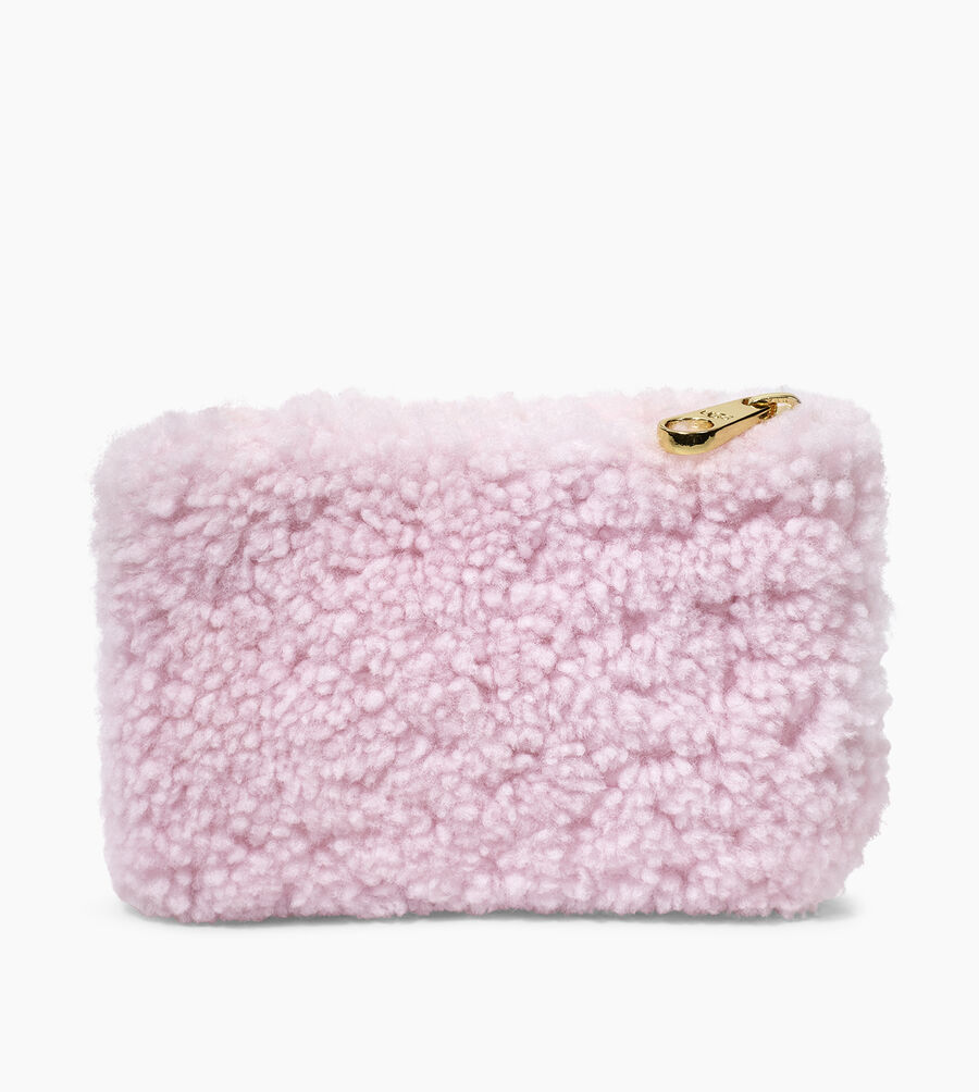 Sheepskin Small Zip Pouch  - Image 3 of 5