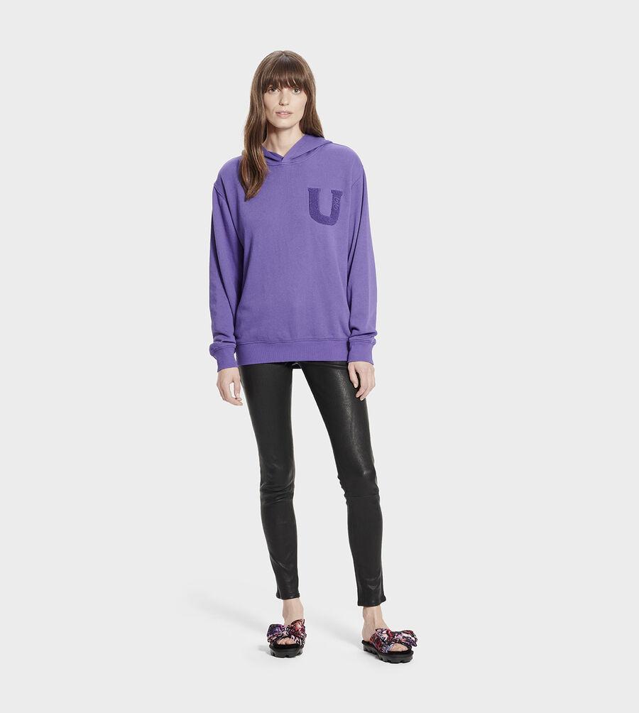 Fuzzy Logo Hoodie Sweatshirt - Image 6 of 6
