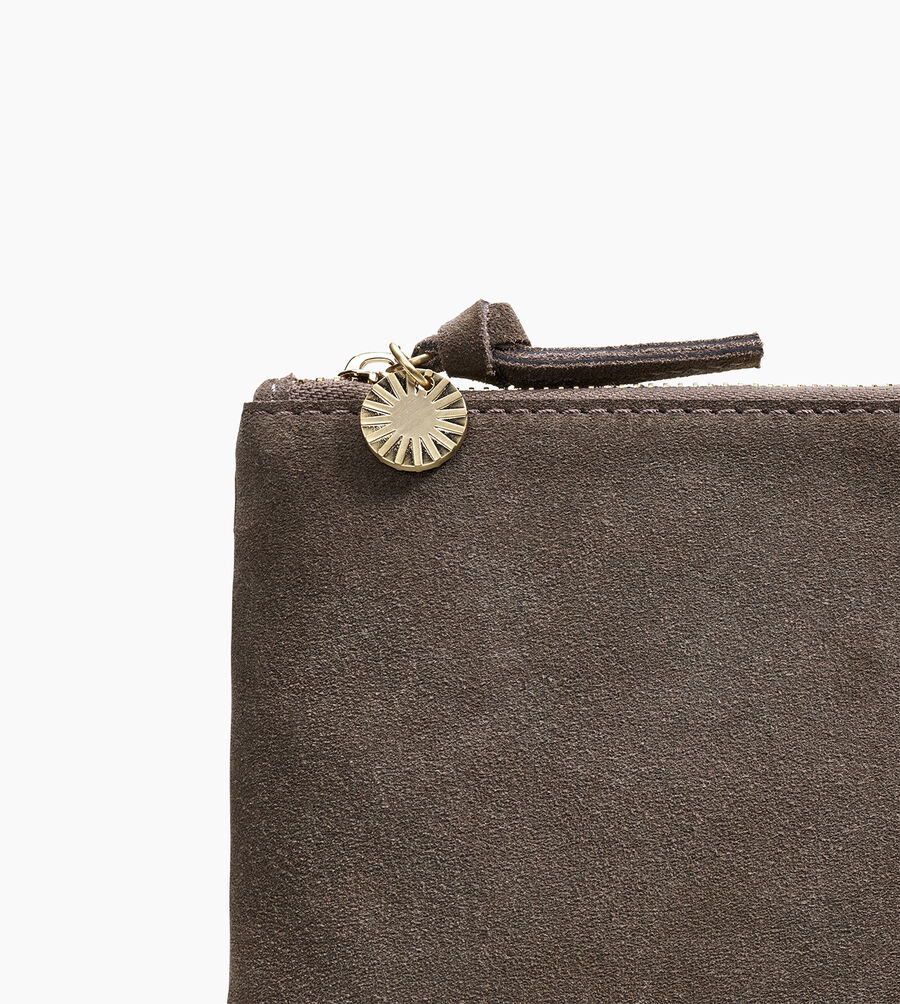 Large Zip Pouch Suede - Image 5 of 5