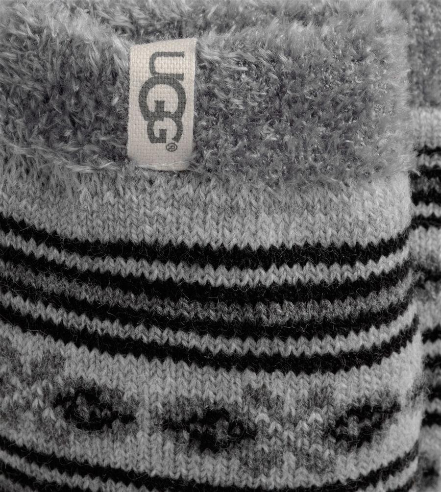 Fair Isle Fleece Lined Sock - Image 2 of 2