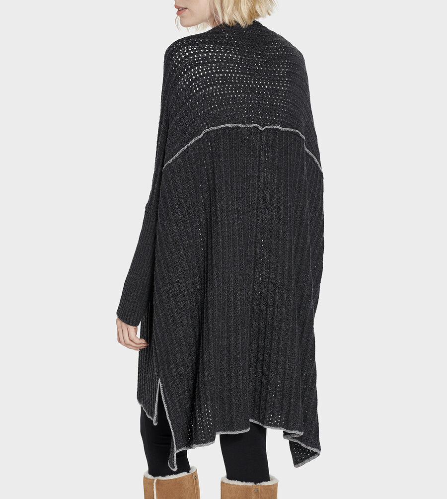 Riley Sweater Poncho - Image 6 of 6