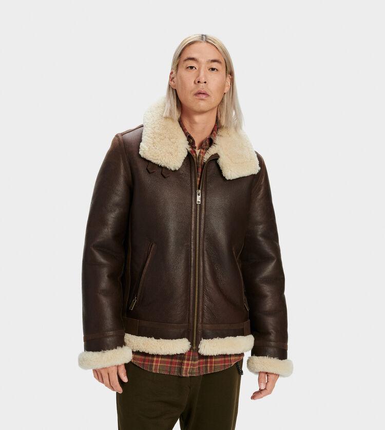 Auden Shearling Aviator Jacket