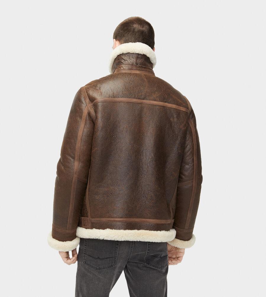 Auden Shearling Aviator Jacket - Image 2 of 6