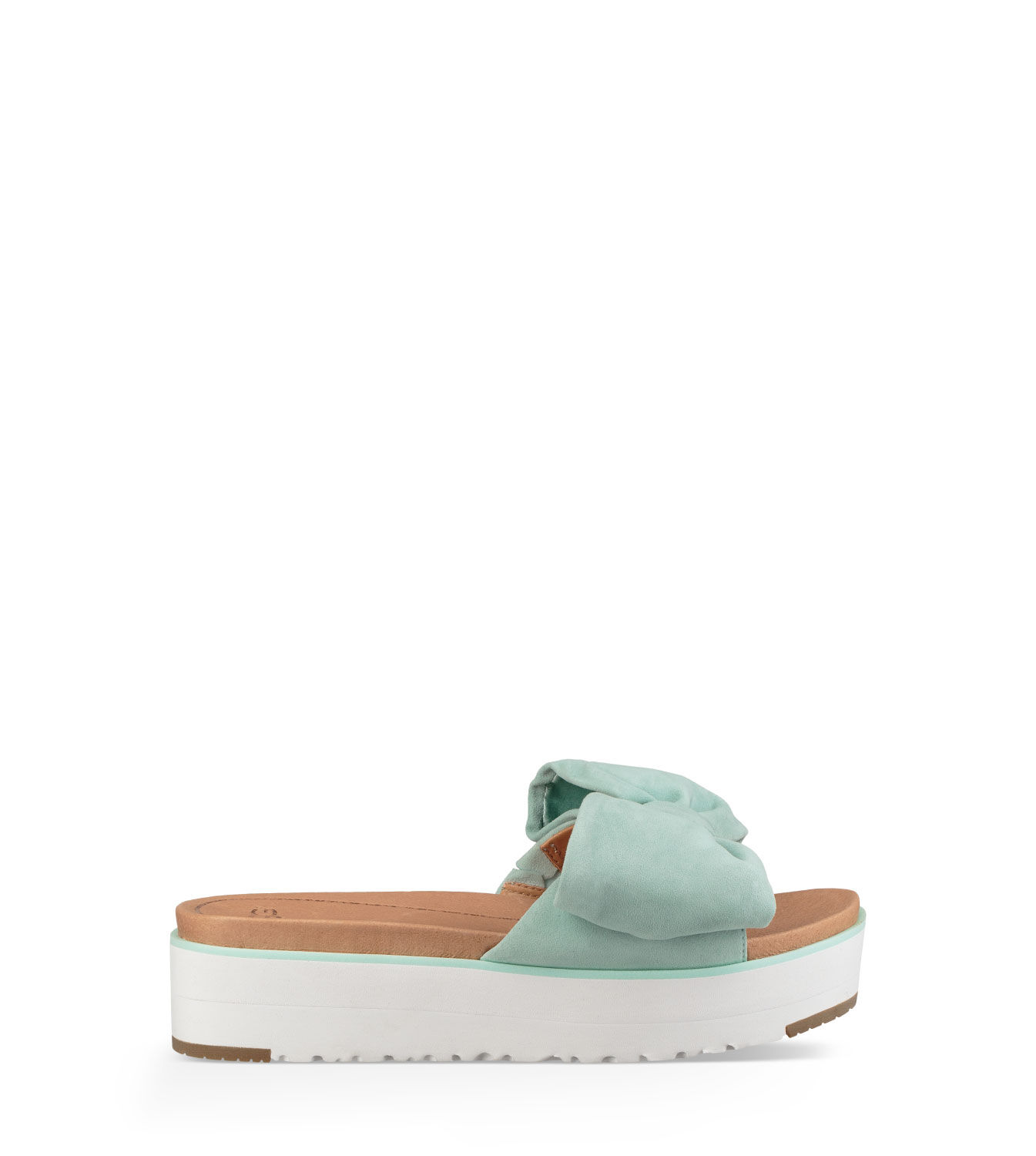 UGG® Joan Suede Bow Slides