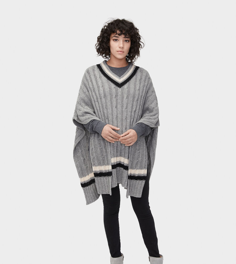 Weslynn Sweater Poncho - Image 3 of 5