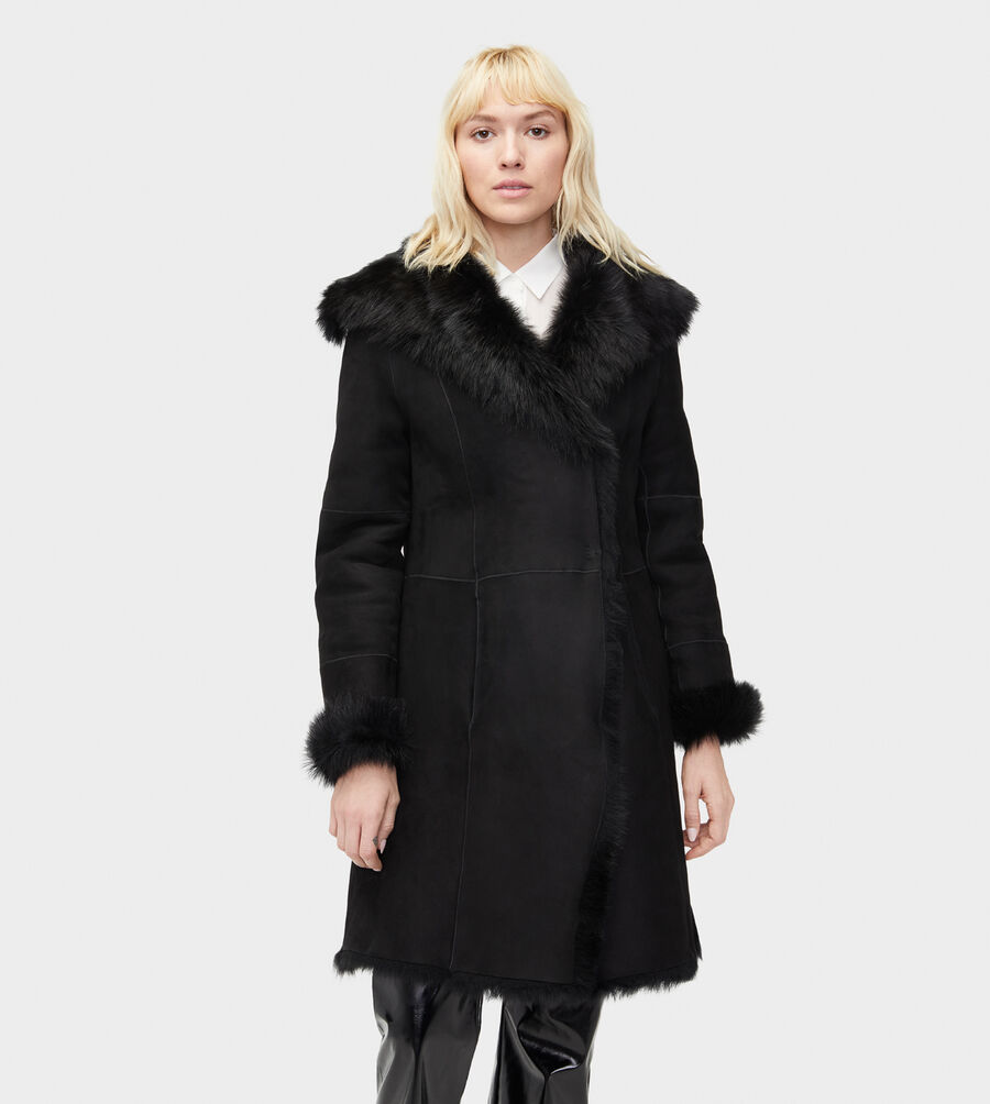Vanesa Toscana Shearling Coat - Image 3 of 6