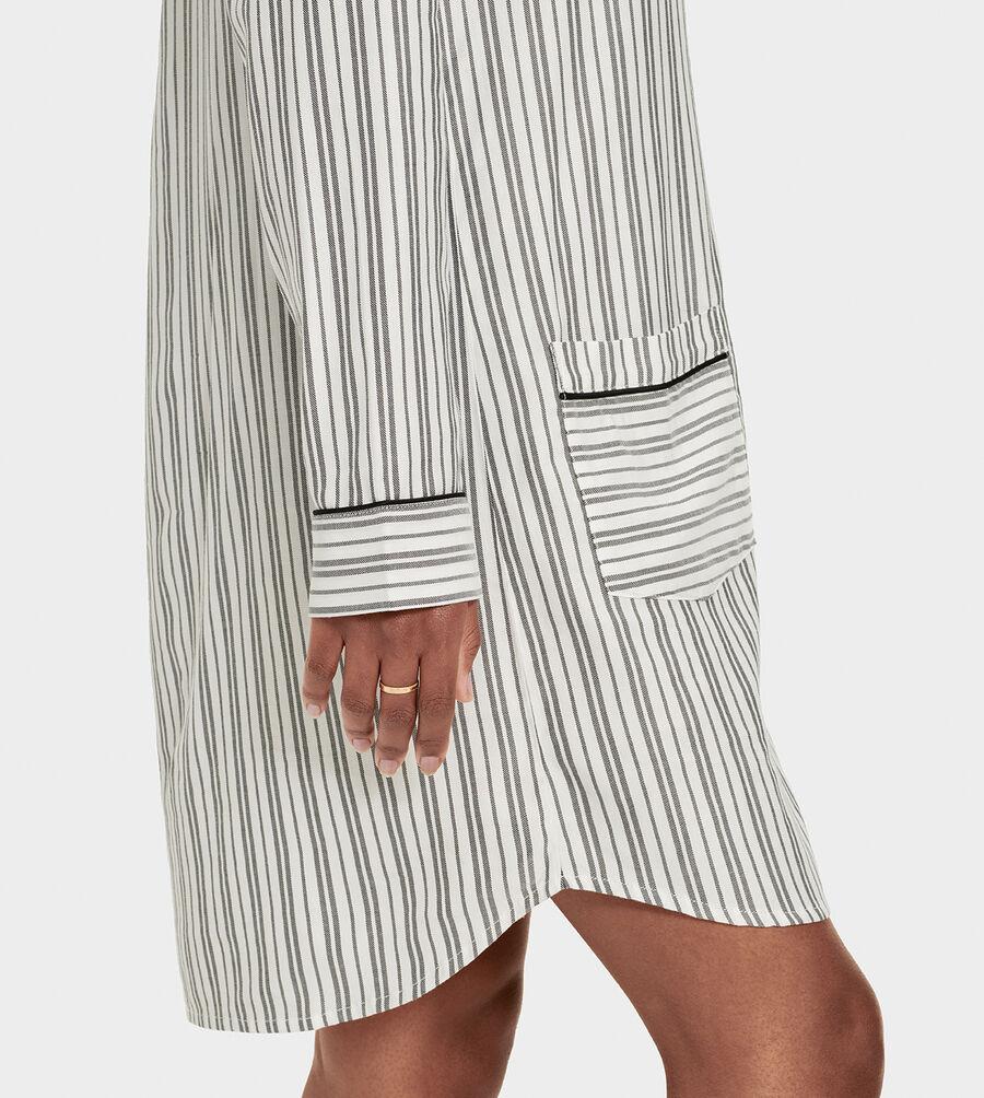 Laura Sleep Dress Stripe - Image 6 of 6