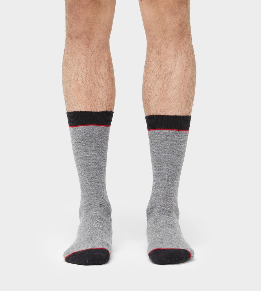 Ezren Herringbone Crew Sock - Image 1 of 3