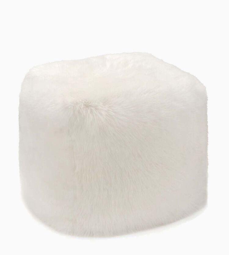 Sheepskin Pouf