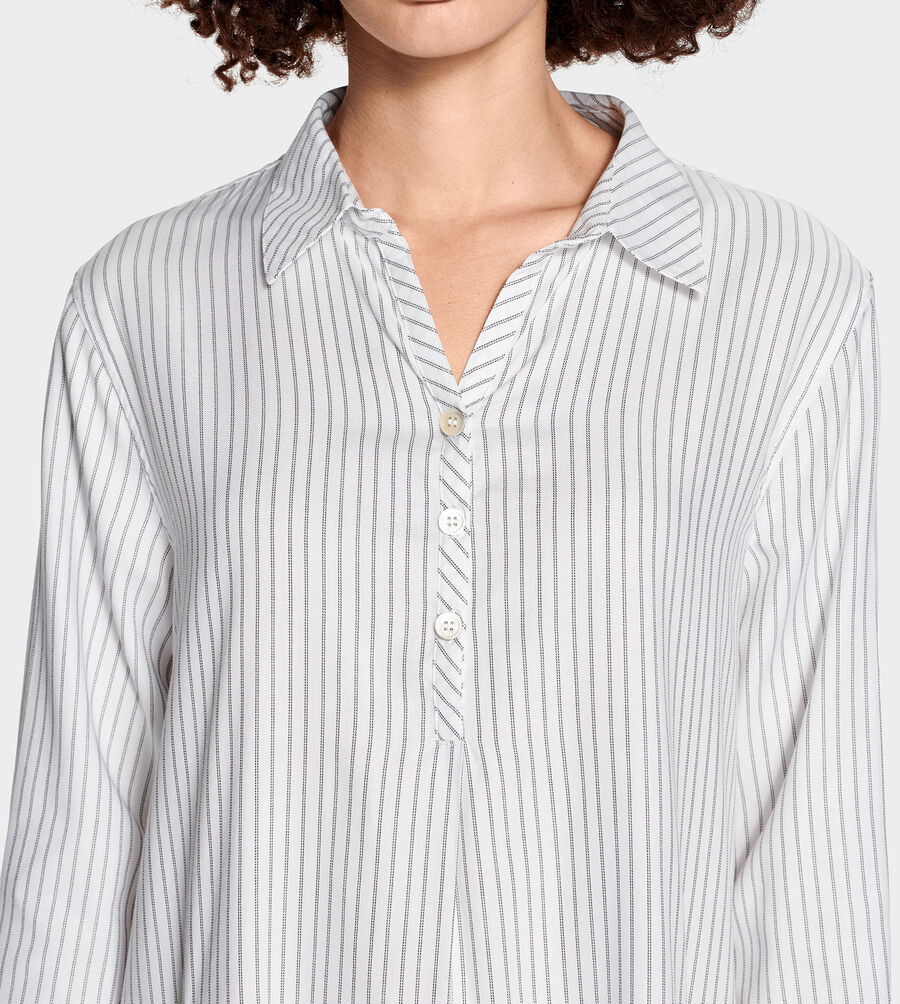 Gabri Stripe Sleep Dress - Image 4 of 6