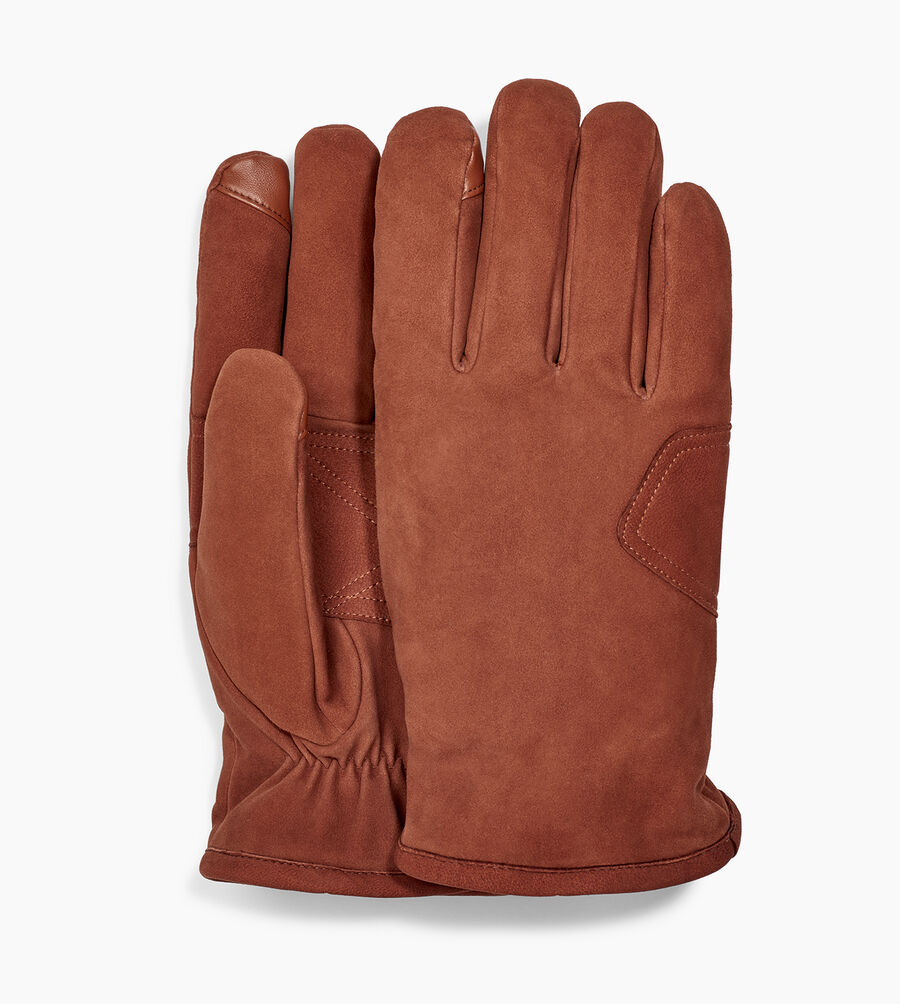 Suede Logo Patch Glove - Image 1 of 3