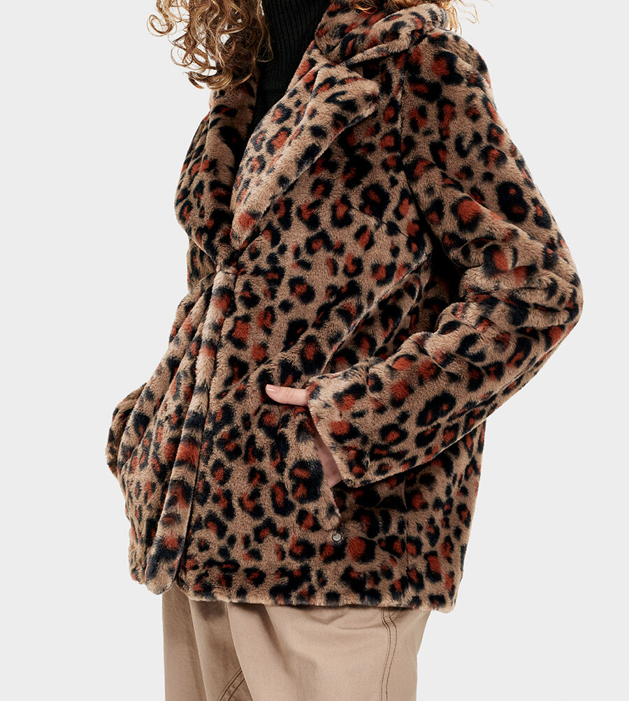 Rosemary Faux Fur Jacket - Image 3 of 6