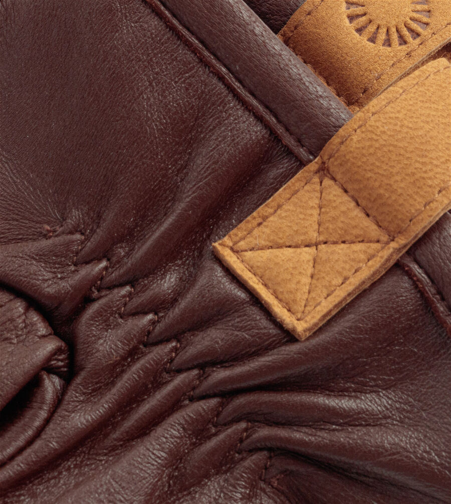 3 Pt Leather Glove With Pull Tab - Image 3 of 3