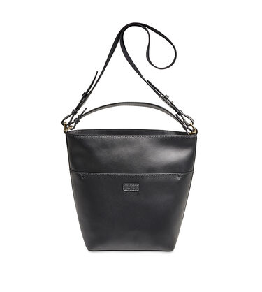 Libby Leather Bucket Tote