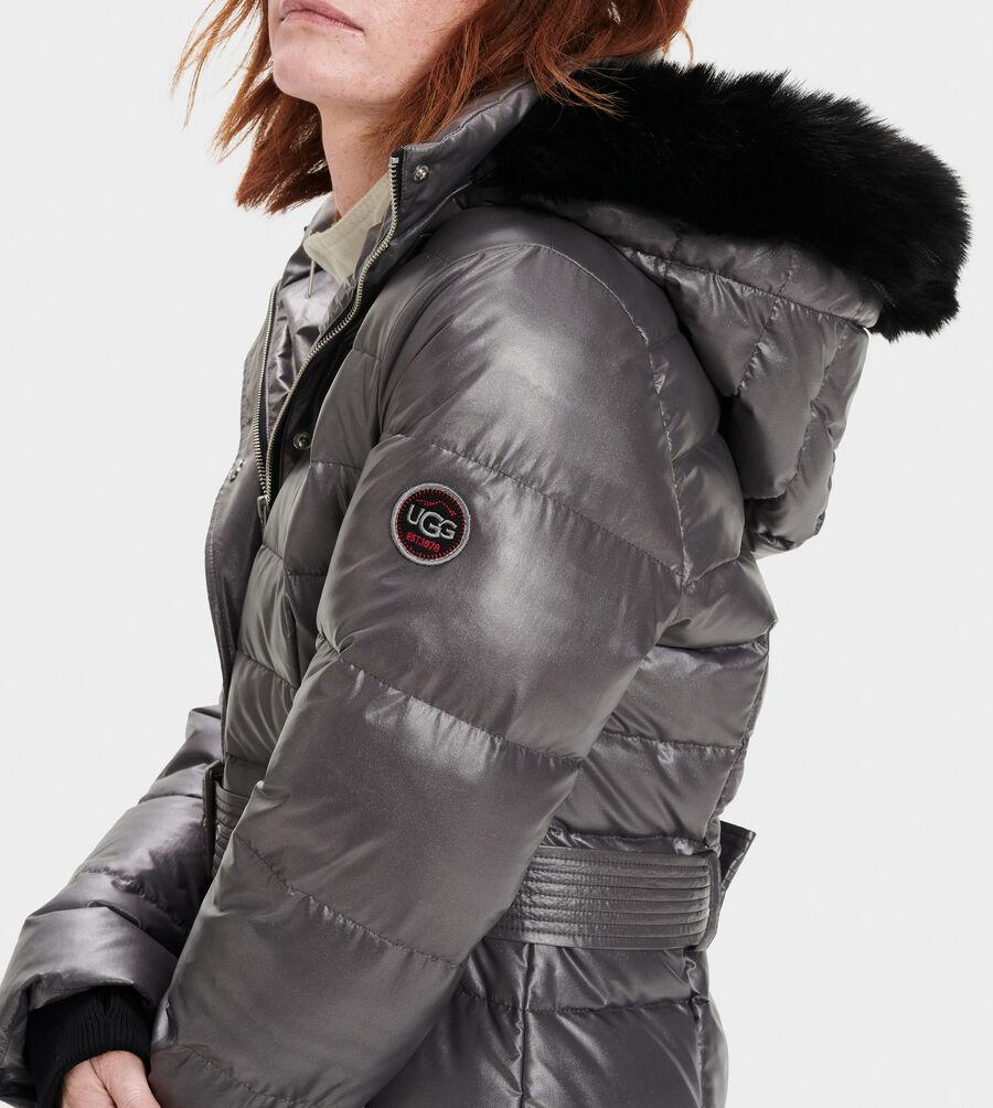 Valerie Belted Down Coat II - Image 4 of 5