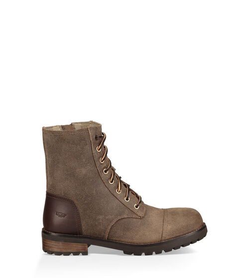 UGG Womens Kilmer II Boot Leather In Dove, Size 8