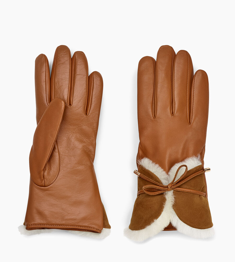 Combo Sheepskin Trim Glove - Image 2 of 3