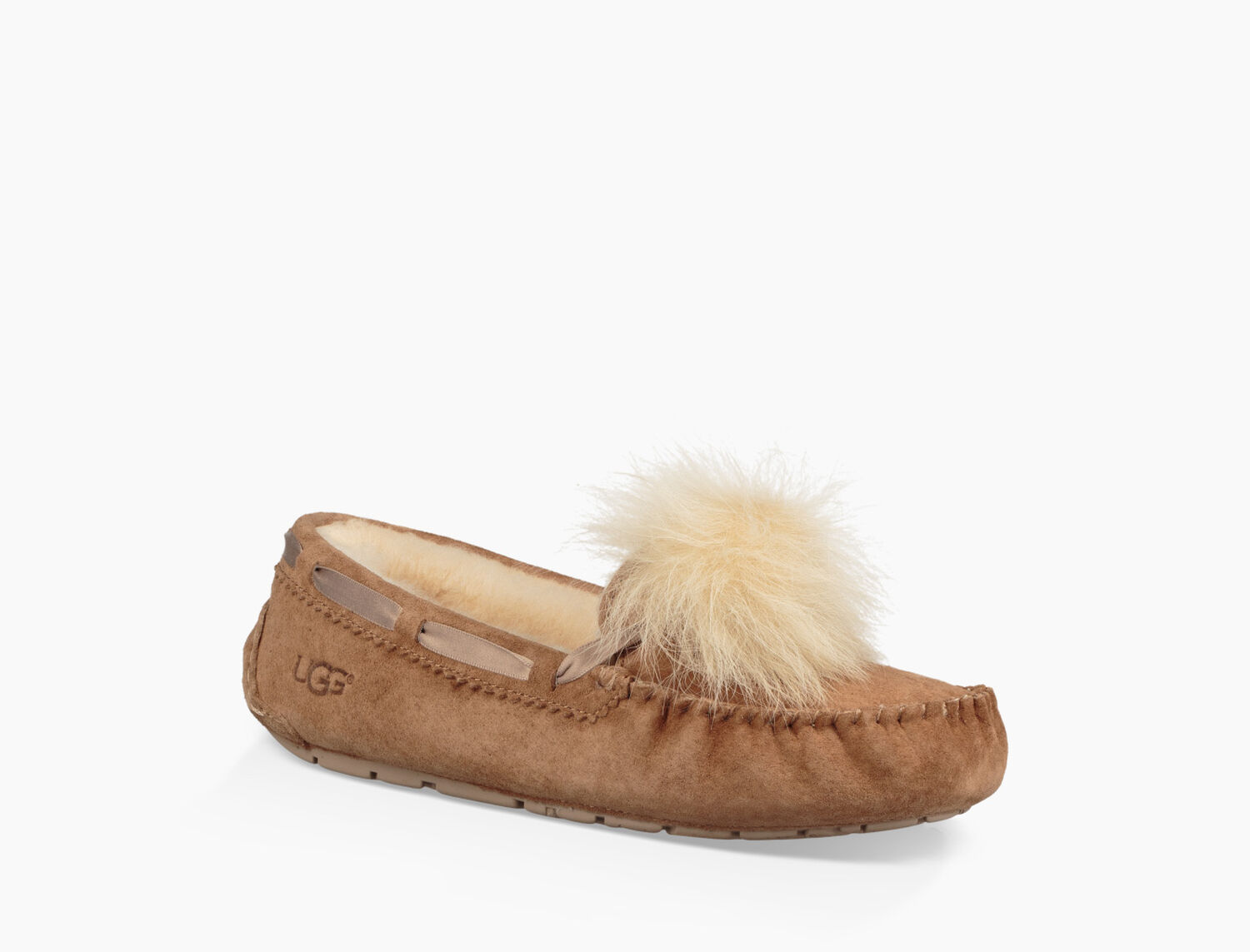 d94ce0a400a Women's Share this product Dakota Pom Pom Slipper