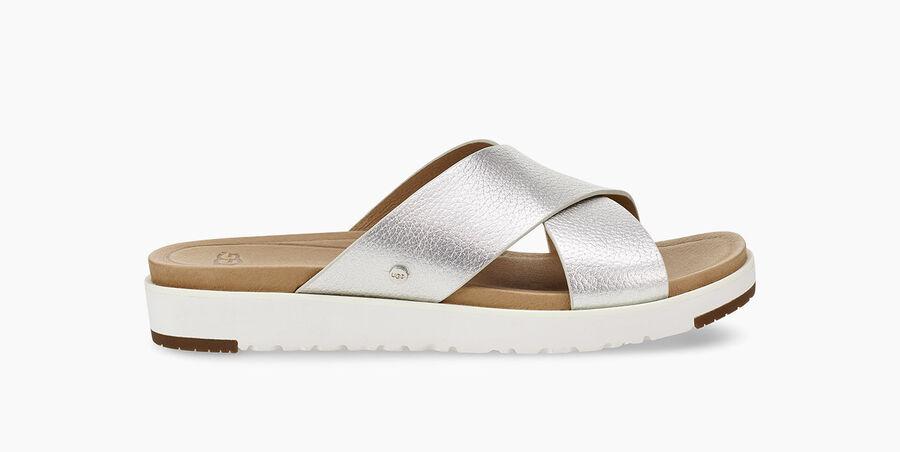 Kari Metallic Sandal  - Image 1 of 6
