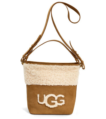 Libby Sheepskin Bucket Tote