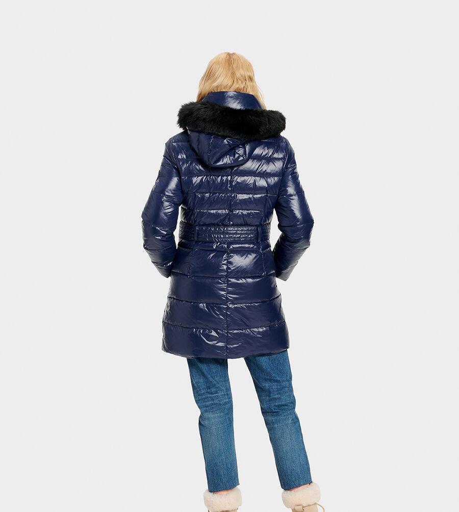 Valerie Belted Down Coat - Image 3 of 6