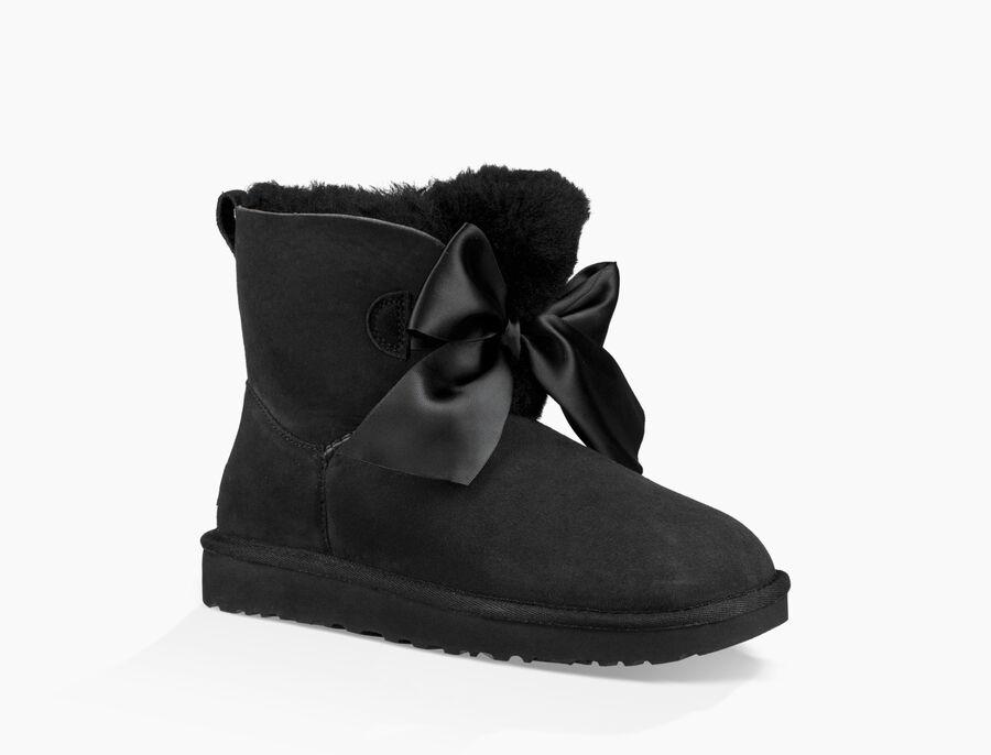 Gita Bow Mini Boot - Image 1 of 6